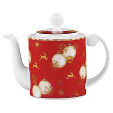 Holiday 1.3 Litre Coffee Pot in Red