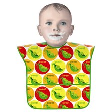 Sweet Pea Bib in Yellow