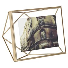 Prisma Picture Frame in Brass