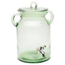 Entertaining Vintage Glass Jar Drink Beverage Dispenser