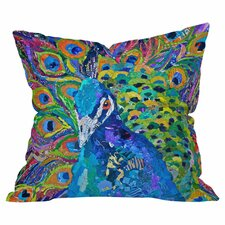 Elizabeth St Hilaire Nelson Cacophony of Color Polyester Throw Pillow