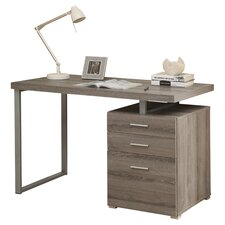 Computer Desk with Space Storage Drawer