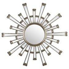Cameron Mirror in Silver
