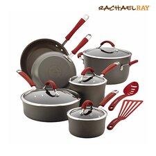 Cucina Hard-Anodized Nonstick 12 Piece Cookware Set