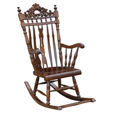 Rocking Chair in Mahogany