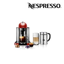 VertuoLine Coffee and Espresso Machine and Aero+ Bundle