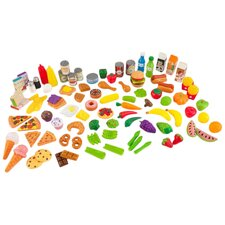 Tasty 105 Piece Treats Play Food Set