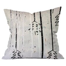 Kent Youngstrom Holiday Trees Throw Pillow