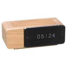 Alarm iPhone 5 Docking Station in Natural