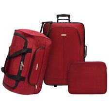 Ultra Lightweight 3 Piece Rolling Luggage Set