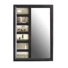 Bellissimo Wall Mounted Jewelry Armoire with Mirror