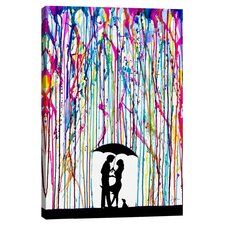 Two Step Canvas Art by Marc Allante
