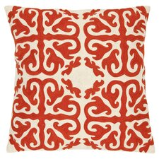 Casper Throw Pillow in Caspar Orange Sunburst