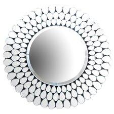 Cadence Mirror in Silver