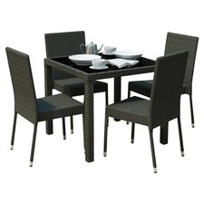 Park Terrace 5 Piece Seating Group