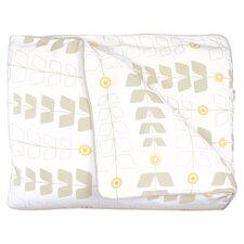Stem Crib Quilt in White