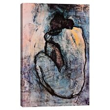 Blue Nude Canvas Art by Pablo Picasso