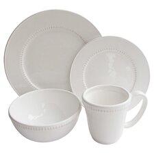Carly Bead 16 Piece Dinnerware Set