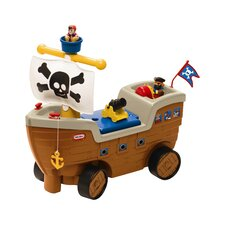 Play 'N Scoot Pirate Ship Ride-On