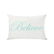 Holiday Believe Reversible Pillow