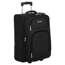 "Helium Quantum 21"" Carry-On Suitcase in Black"