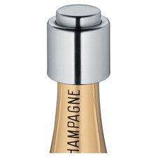 Cilio Champagne Stopper in Silver