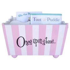 Once Upon a Time Stripe Bookholder in Pink