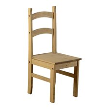 Budget Mexican Pine Dining Chair (Set of 4)
