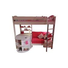 Casa High Sleeper Sofa Bunk Bed Set III