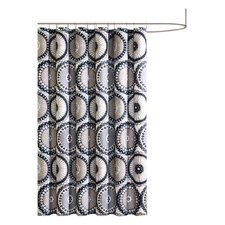 Luka Microfiber Shower Curtain