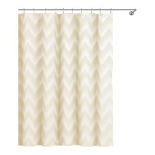 Maia Ikat Linen / Poly Shower Curtain