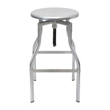 Hugo Adjustable Height Swivel Bar Stool