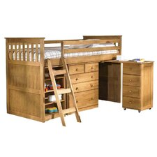 Cabin Single Mid Sleeper Bunk Bed