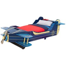 Airplane Convertible Toddler Bed