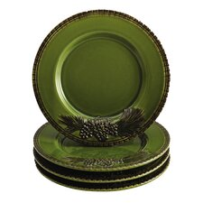 Sierra Pine Salad Plate Set (Set of 4)