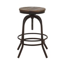 "Twin Peaks 30.3"" Swivel Bar Stool"