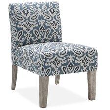 Palomar Slipper Chair in Blue