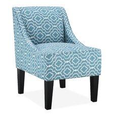 Prescott Slipper Chair in Teal