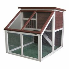 Bay Window Rabbit Hutch