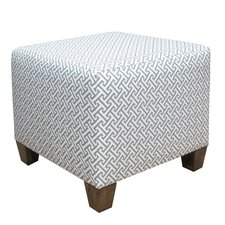 Ottoman in Cross Section Grey