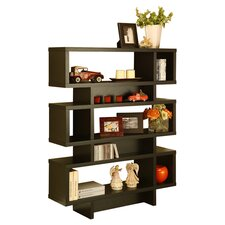 Celio Bookcase in Matte Black