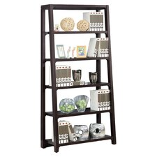 Ladder Bookcase in Coffee Bean