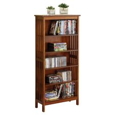 Valencia Bookcase in Antique Oak