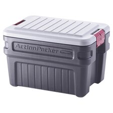 Rubbermaid Action Packer Storage Container in Black