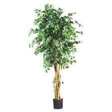 Palace Style Silk Ficus Tree