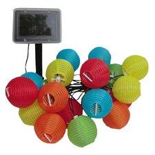 Solar String 20 Light Lantern Set