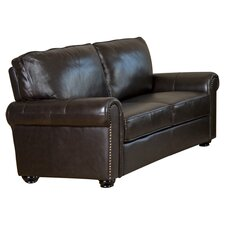 Bliss Loveseat in Dark Brown