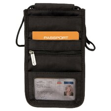 Deluxe Travel Pouch in Black