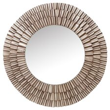 Comoros Wall Mirror in Silver