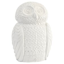 Oscar the Owl Sculpture in White